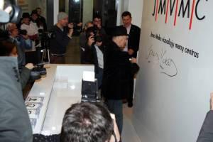 """Jonas Mekas : """"Menas visados yra tik menas"""""""